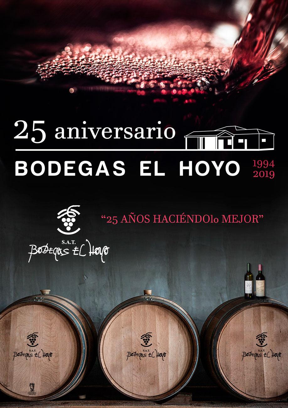 Bodegas el Hoyo celebra su 25aniversario